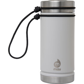 MIZU V5 Botella con aislamiento con Tapa en V 500ml, enduro light grey
